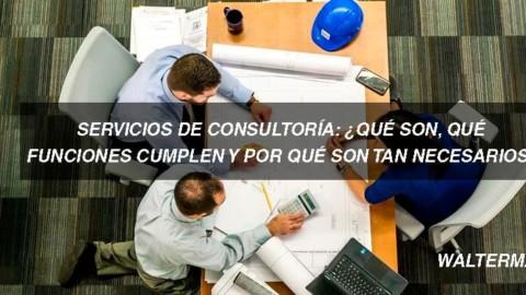 Servicios de consultoría ¿Qué son, qué funciones cumplen y por qué son tan necesarios?