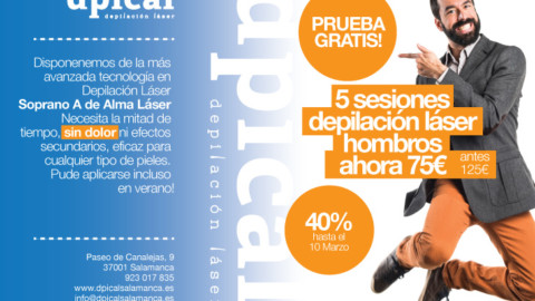 caso de éxito: dpical depilación láser en Salamanca
