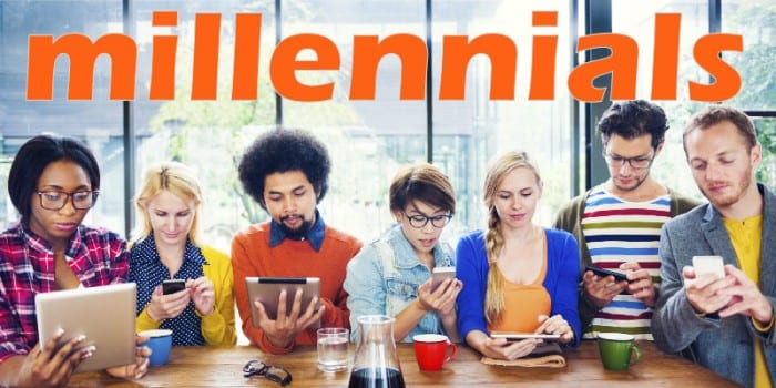 como los millennials ven a los influencers