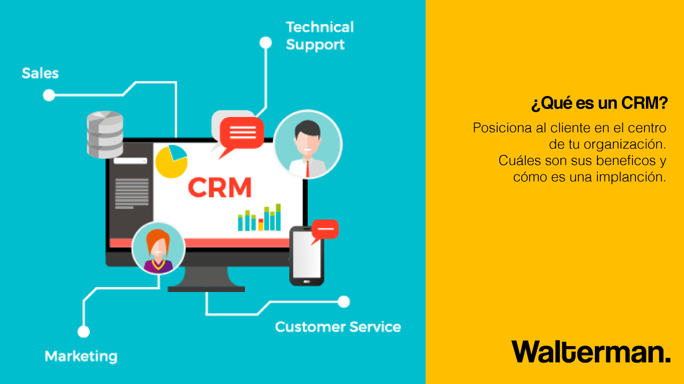 ¿Qué es crm? o un Customer Relationship Management
