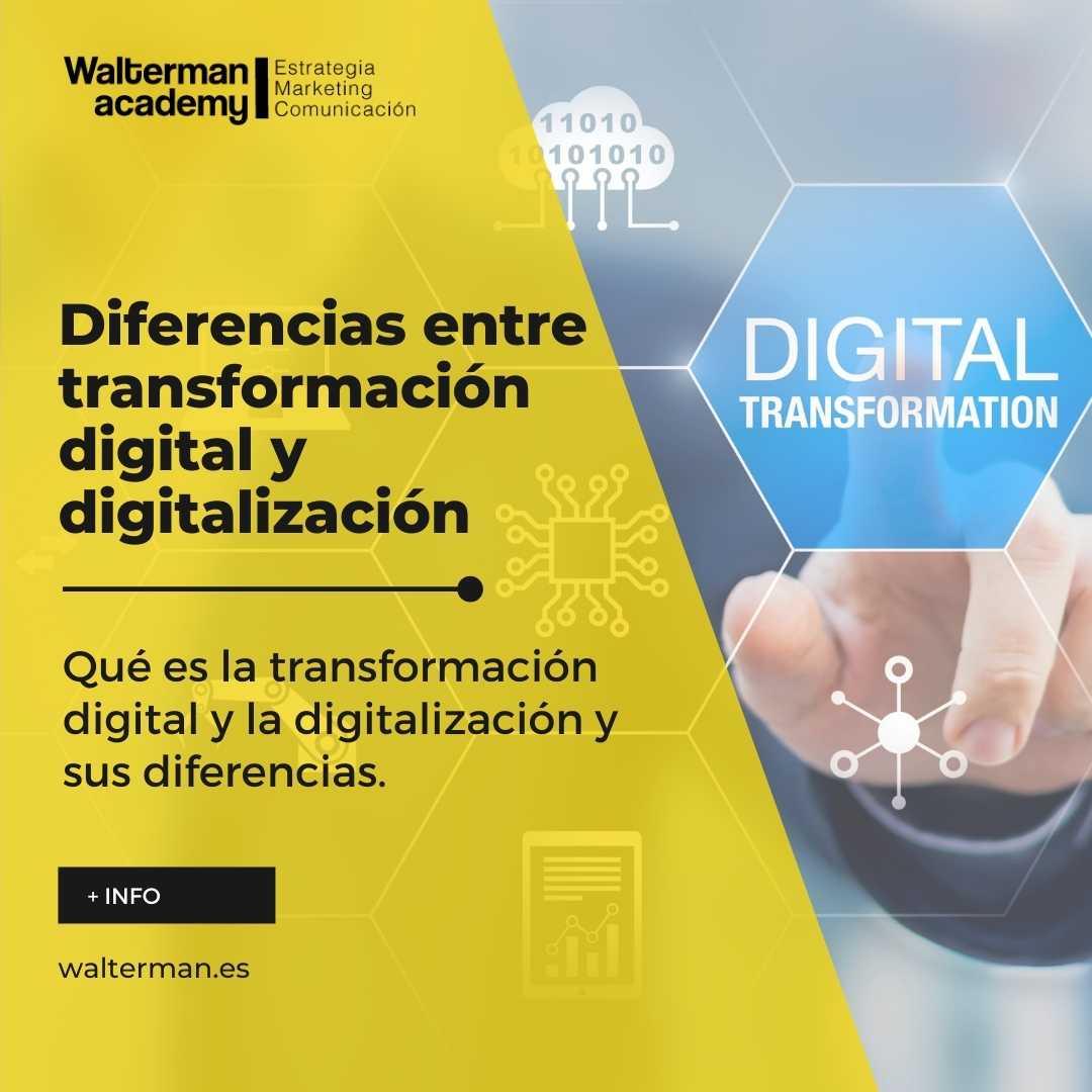 transformación digital y digitalización